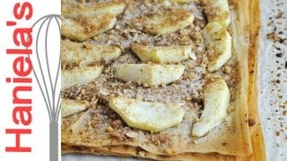 Apple Walnut Phyllo Tart Recipe