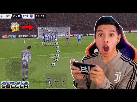 TIROS LIBRES ÉPICOS DE ESTE JUGADOR 😱 Dream League Soccer 2020
