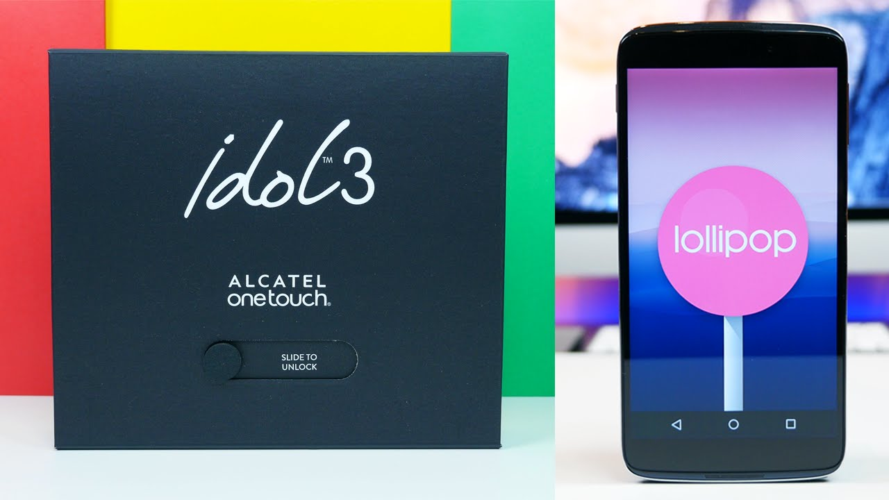 Alcatel OneTouch Idol 3 Unboxing & Mini Review
