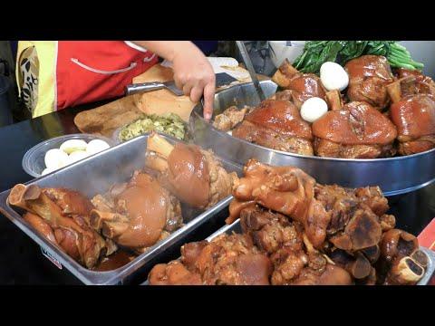 Thailand Street Food. Great Food at OTOP Patong Street Food Market, Phuket