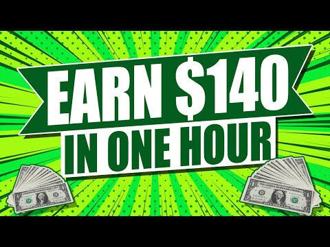 Earn $140 In One Hour 🔥 Available Worldwide 🔥 Work From Home Job (Free Paypal Money)