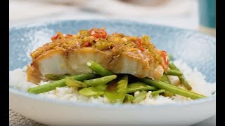 Steamed Ginger-Soy Fish Parcels | Classic Recipes