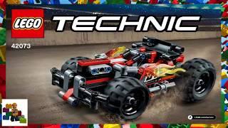 LEGO instructions - Technic - 42073 - BASH!