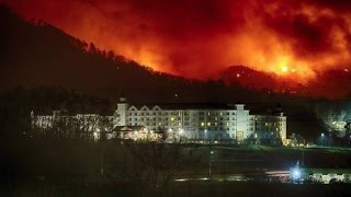 "What caused the Tennessee ""Fire Storm"" 