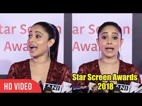 Nushrat Bharucha at Star Screen Awards 2018