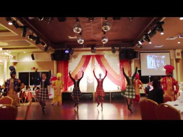 Fusion of Highland and Bhangra Dance
