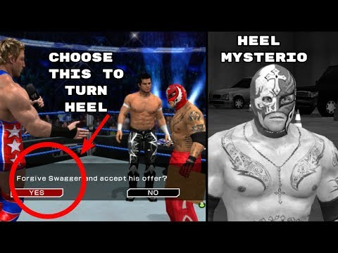 3 Times YOU Had The Choice To Turn Heel In WWE Games