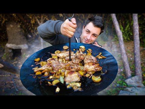 camp-de-survie-#7-méga-barbecue-médiéval-!