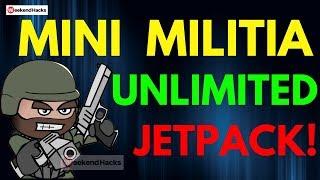 Mini Militia CTF Unlimited Jetpack Hack Pro Pack Unlocked 2017 | Weekend Hacks [ NO ROOT ]