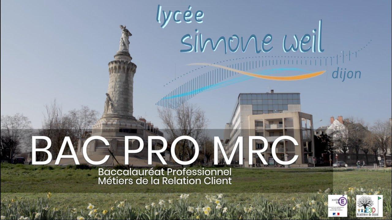 Bac Pro. MRC en vidéo !