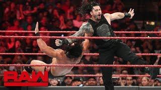 Roman Reigns & The Usos vs. Drew McIntyre vs. The Revival: Raw, June 3, 2019