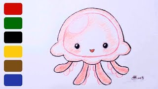 How to Draw Jellyfish