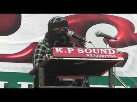 Nagpur Rally of Womens to oppose Triple Talaq Bill- Prof Monisa Bushra member AIMPLB-part-1