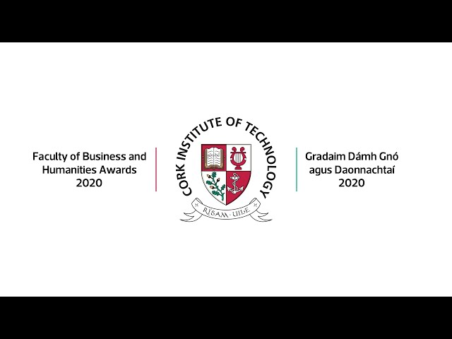 CIT Faculty of Business and Humanities Awards 2020