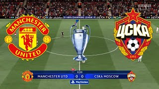 FIFA 21 Manchester United vs CSKA Moscow UEFA Champions League 2020 21 Full Gameplay