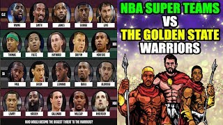 Could these 4 NBA Super Teams beat The Golden State Warriors? NBA 2K17