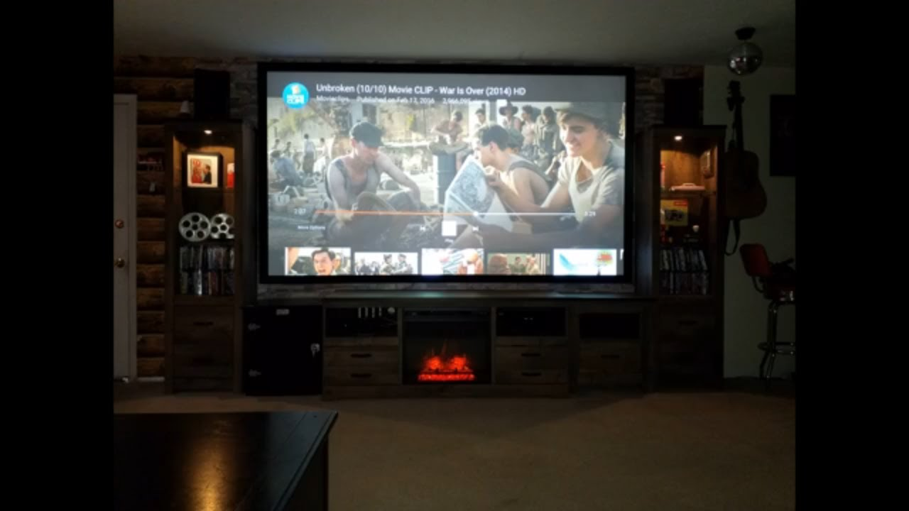 Silver Ticket 120 in Projector Screen Install and Review