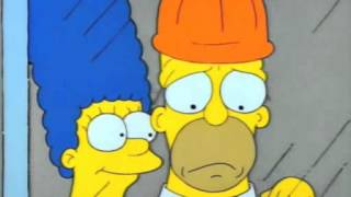 Marge & Homers Love clip