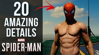 20 AMAZING Details in Spider-Man PS4