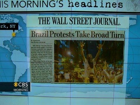 Headlines: Brazil demonstrators protest corruption, spending