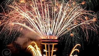 New Years In Seattle: Space Needle Fireworks Show