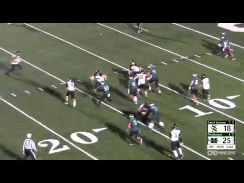 SS vs Muskogee 2 point conversion
