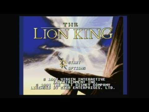 CGR Undertow - THE LION KING for Sega Genesis Video Game Review