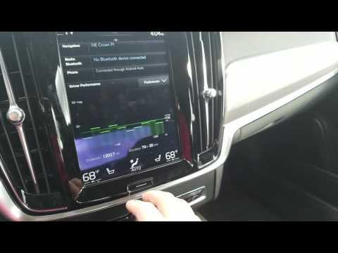 Volvo XC90/S90 Android Auto Overview