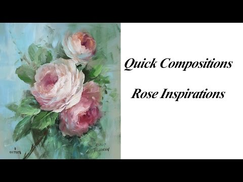Quick Compositions  Rose Inspirations
