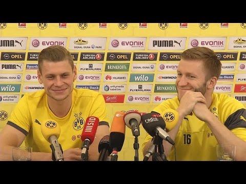 Pressekonferenz: Lukasz Piszczek und Jakub Blaszczykowski in La Manga | BVB