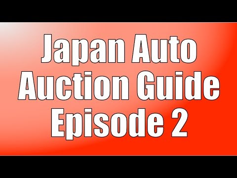 Japan Auto Auction Guide #2 - How to Search Past Sales
