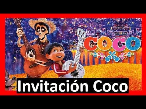 Video Invitación Coco Whatsapp Digital