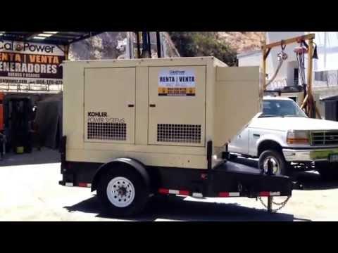 Kohler 20 KW Portable Diesel Generator Set