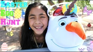 EASTER EGG HUNT OLAF EASTER BASKET | B2cutecupcakes
