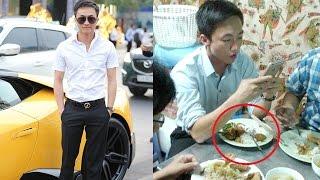 Cường Đô la lái siêu xe đi ăn hàng nhìn đĩa cơm mà ai cũng bất ngờ - TIN TỨC 24H TV