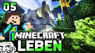 Jungle TEMPEL + Unser Wachhund! - Minecraft LEBEN #05 l Let