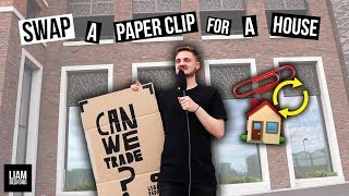 Trading A Paper Clip For A House! (Swap Challenge #1)