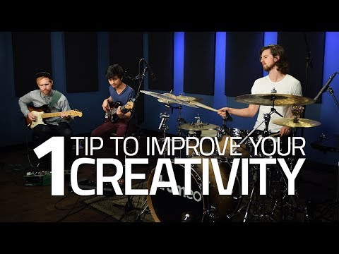 One Tip To Improve Your Creativity - Drum Lesson (Drumeo)