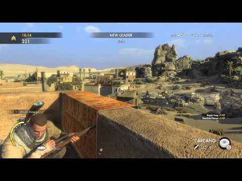 Sniper Elite 3 Multiplayer Gameplay (Free For All)