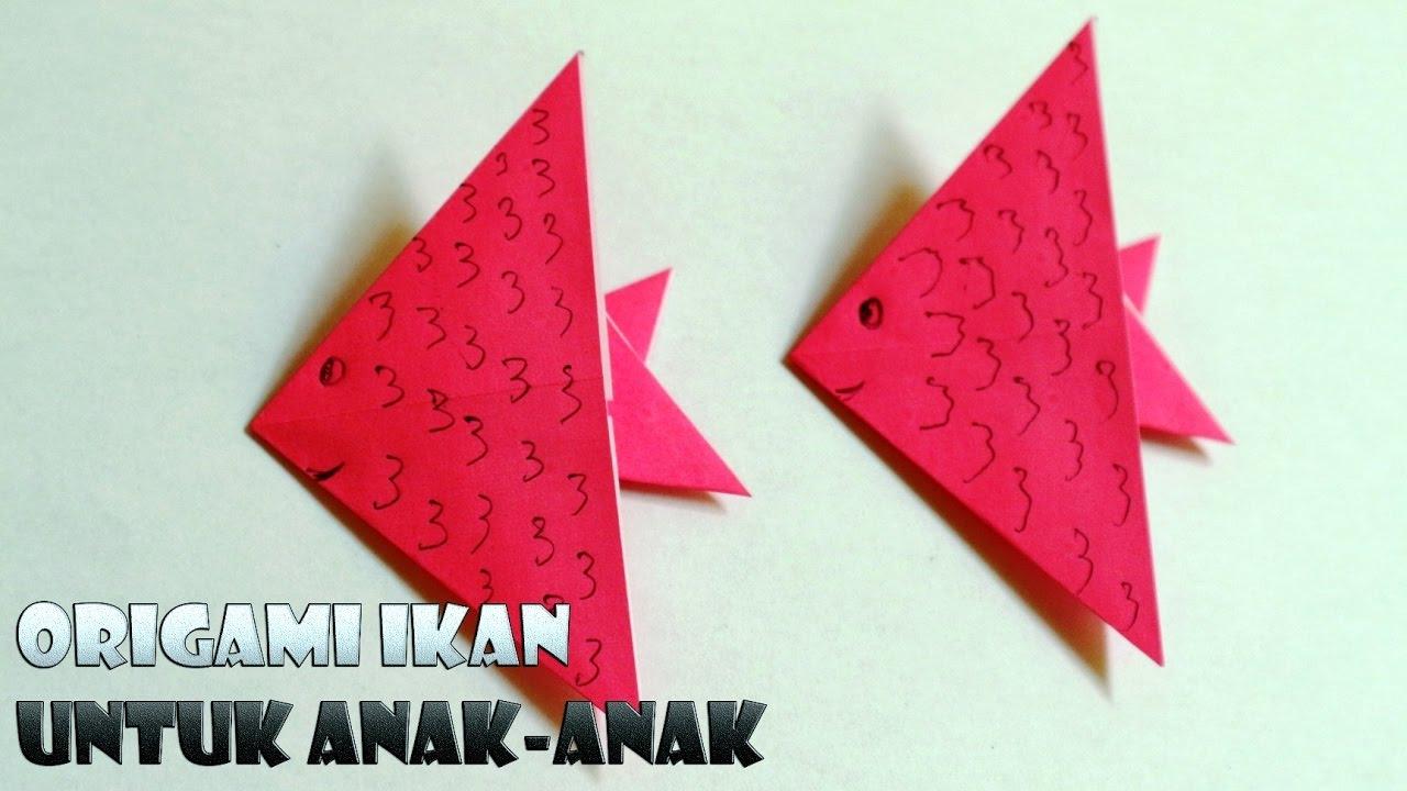 tutorial origami untuk anak