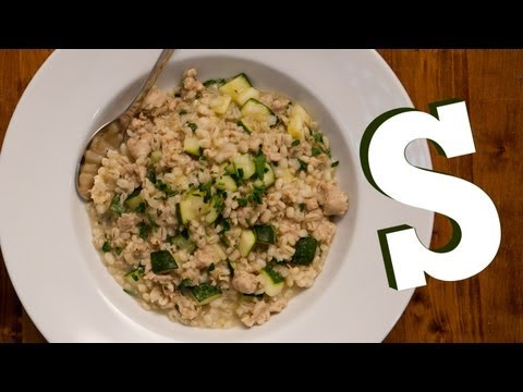 SAUSAGE BARLEY RISOTTO RECIPE SORTED