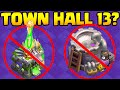 Town Hall 13 Clash of Clans Update - 5 BIG Things We WON'T GET!