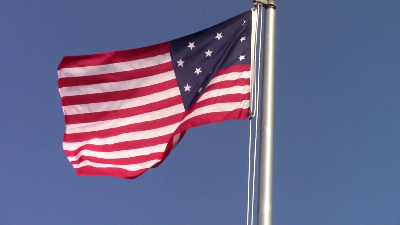 Dewey Cemetery Flag  9-24-17