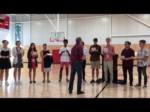 Long Trail School Fieldhouse Opening Ceremony - IB Music