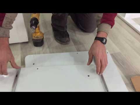 Bydamat Beşik Kurulumu Çift Çekmeceli Sallanır 1.Video