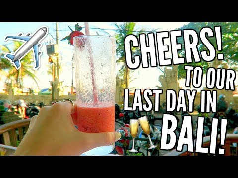 TIME TO GO HOME.. TRAVEL HOME WITH ME! || Bali Day 7 | Lacey Jane