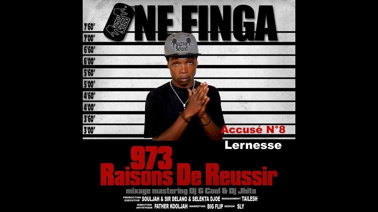 one finga