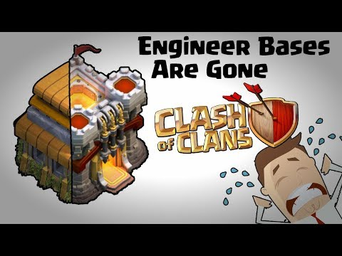 ENGINEER BASE CLASH OF CLANS | HOW TO FIX ENGINEER BASES IN CLAN WARS | CLASH OF CLANS