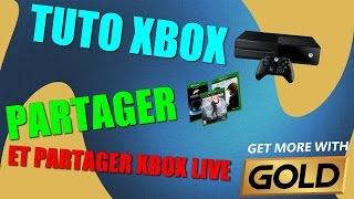 Astuce Xbox one pour partager les jeux et l'abonnement Xbox live avec un autre compte