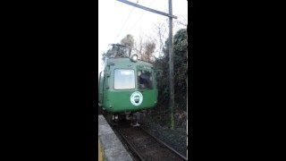 2016.1.31 熊本電鉄5101A  打越駅到着♪